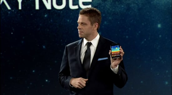 Samsung Galaxy Note Details From CES 2012