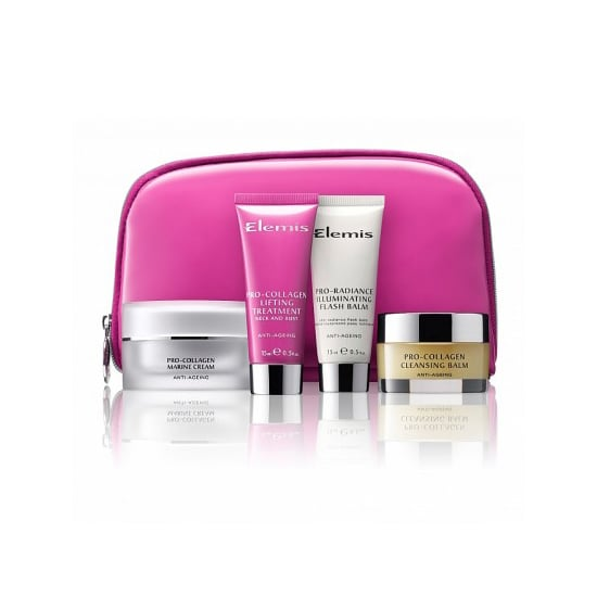 Elemis is giving a $15,000 donation to the Elemis Think Pink Beauty Collection ($58).