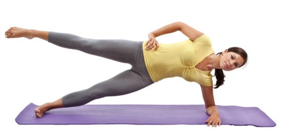 Side Plank With Leg Lift