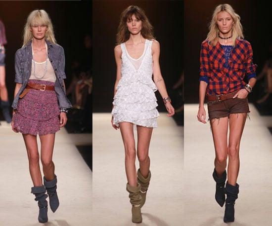 Spring 2011 Paris Fashion Week: Isabel Marant 2010-10-04 07:28:46