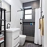 Full-Tiled Bathroom Walls