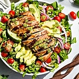 Whole30 Guacamole Salad With Grilled Chipotle Chicken