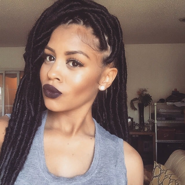 Black Braided Hairstyles With Extensions Popsugar Beauty