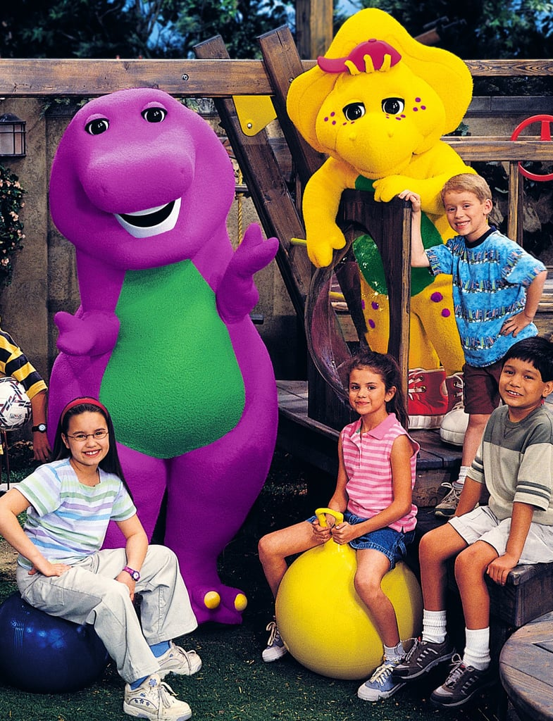 You'll Remember Selena Was on Barney & Friends Back in the Day