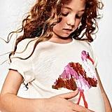 Mini Boden Sequin Animal T-Shirt
