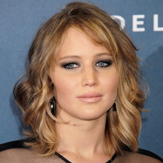Jennifer Lawrence Lob Hairstyle | 2013