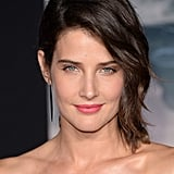 Cobie Smulders was fresh-faced for the event.