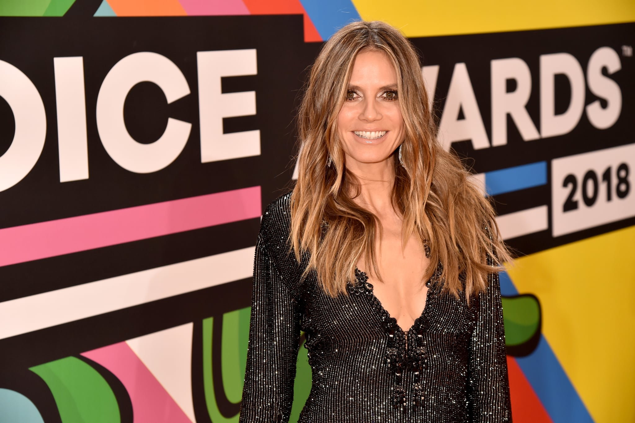 INGLEWOOD, CA - MARCH 24:  Heidi Klum attends Nickelodeon's 2018 Kids' Choice Awards at The Forum on March 24, 2018 in Inglewood, California.  (Photo by Jeff Kravitz/FilmMagic)
