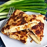 Caramelized Onion and Fontina Naan Quesadillas