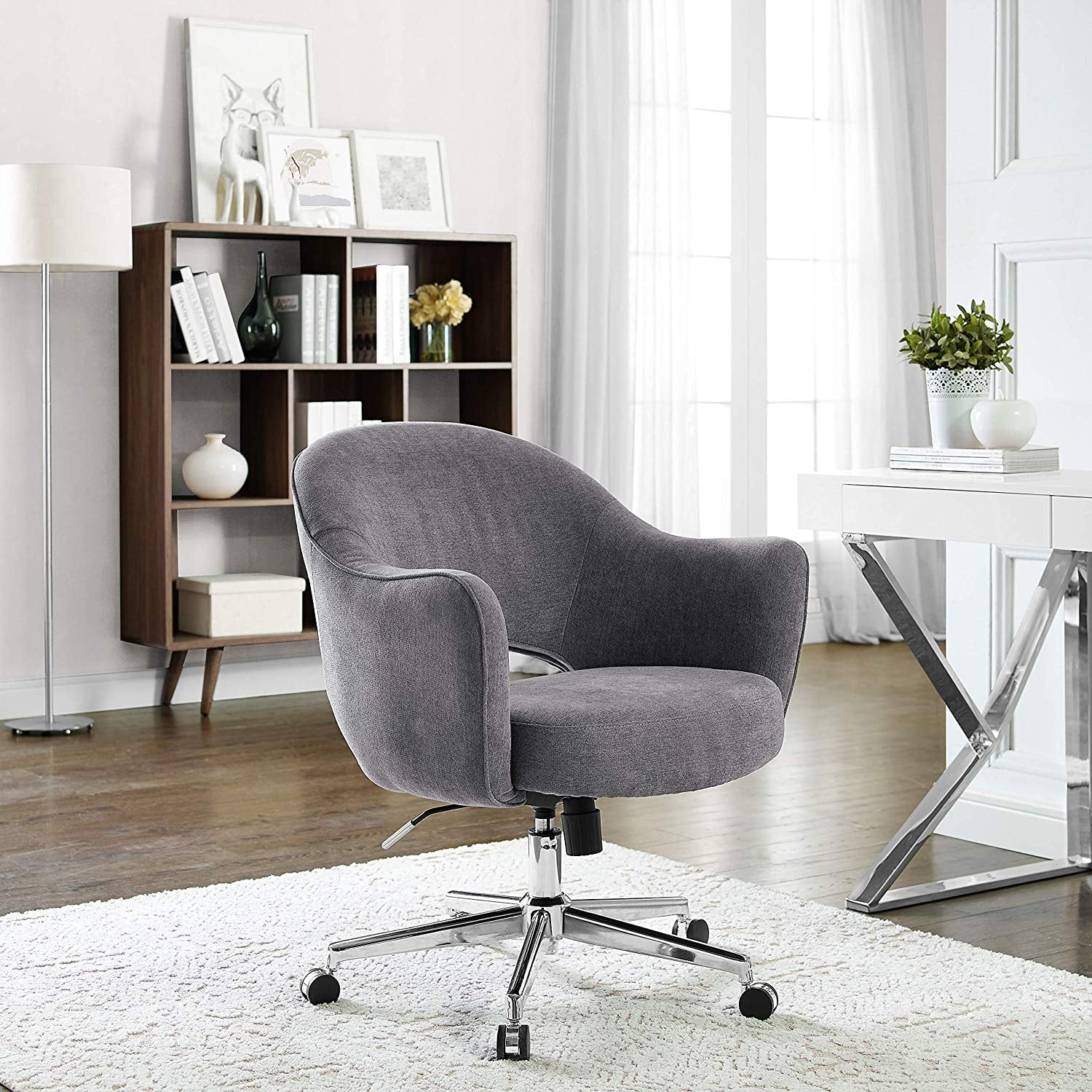 Serta Valetta Dovetail Home Office Chair 21 Stylish Office Furniture Pieces That Will Make Working From Home So Much Better Popsugar Home Photo 6