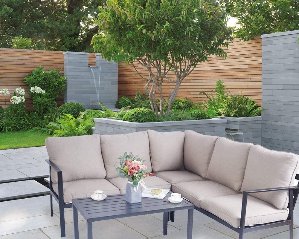 Kozyard 4-Piece Outdoor Sofa Set