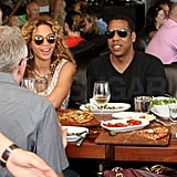 Beyoncé Knowles and Jay-Z Dine Between His Aussie Tour Dates