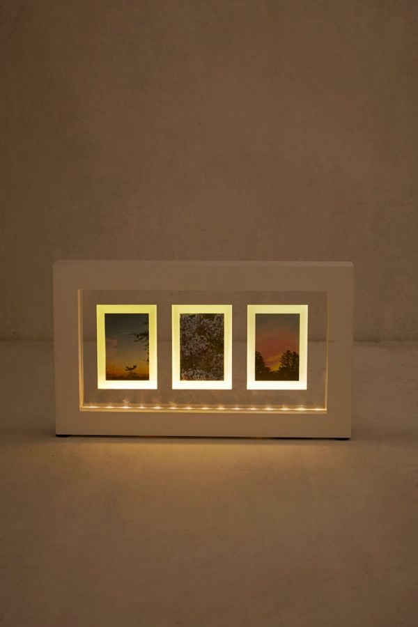 Light-Up Instax Mini Trio Picture Frame