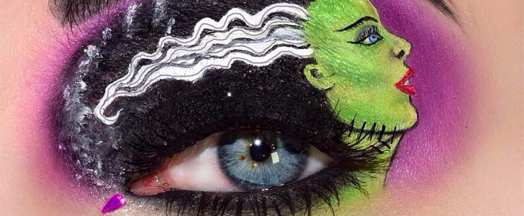 Halloween Eye Makeup So Scary You Won't Even Need a Costume