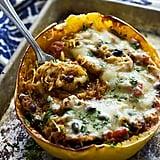 Vegetarian: Mexican Spaghetti Squash
