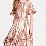 Rachel Parcell Metallic Swing Dress