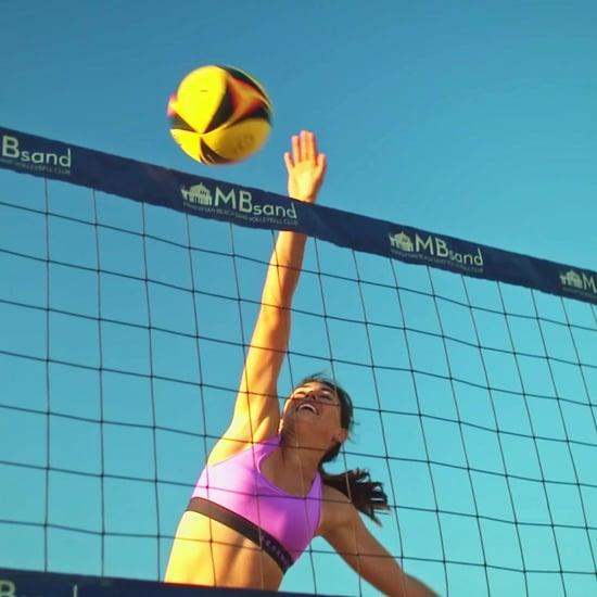 Professional Beach Volleyball Player Zana Muno