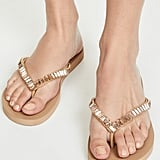 Mystique Jeweled Flip Flops