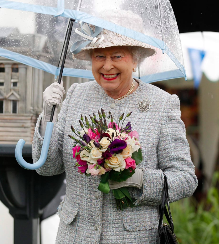 The Queen's Fulton Umbrella Collection