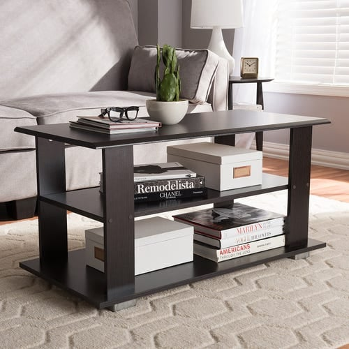 Philbert Brown Coffee Table