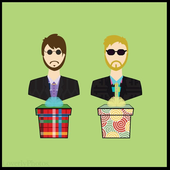 The Lonely Island Print ($16)