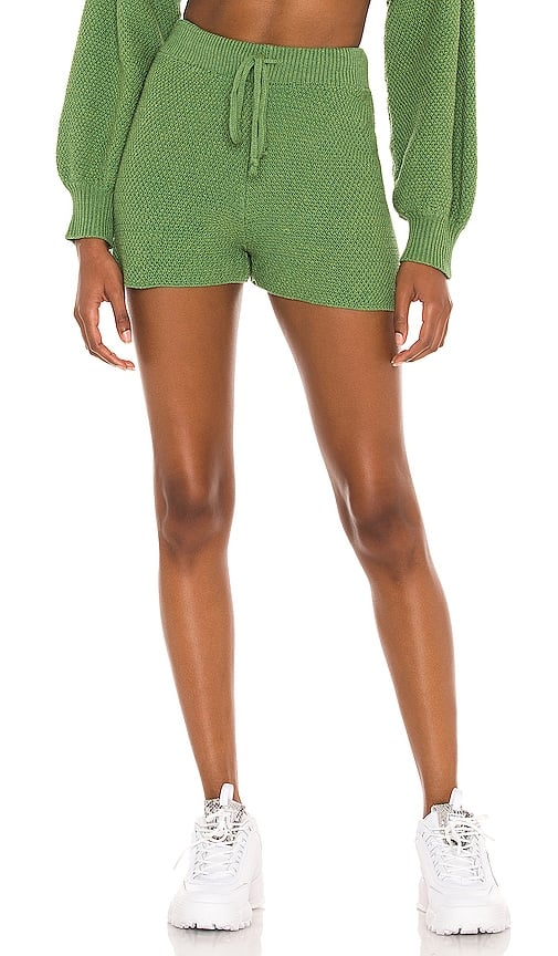 Knit Shorts in Green from Revolve.com