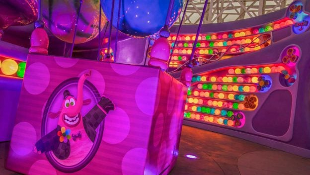 Your First Look at Inside Out Emotional Whirlwind at Disney California Adventure