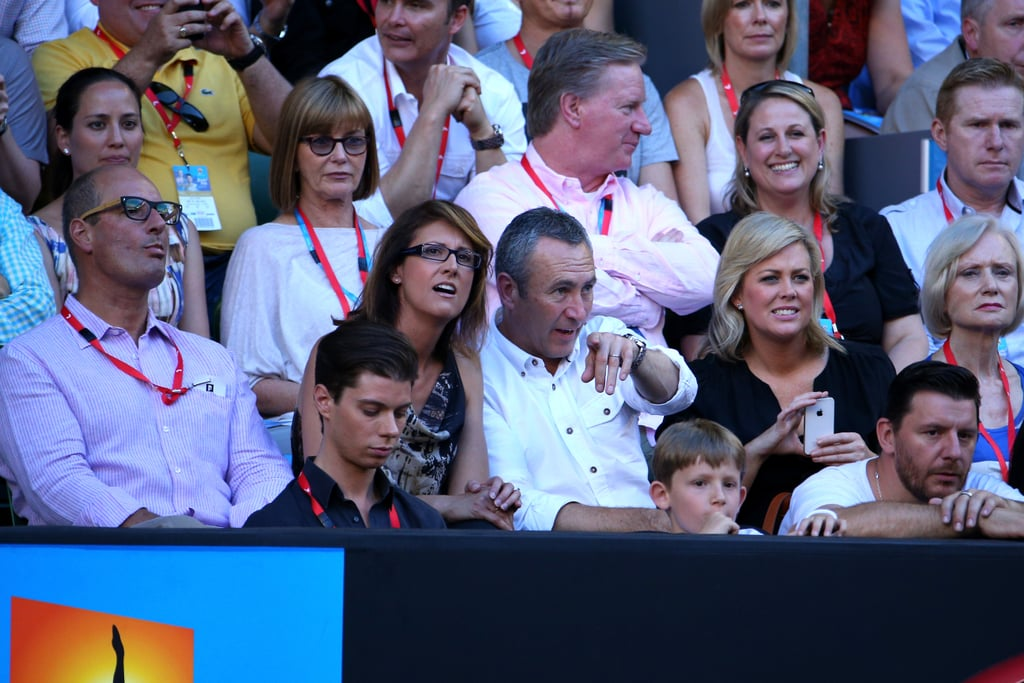 David Koch, Michael Pell, Natalie Barr, Mark Beretta, Samantha Armytage and Manu Feildel