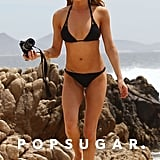 LeAnn Rimes snapped photos in her black bikini while vacationing in Cabo back in April.