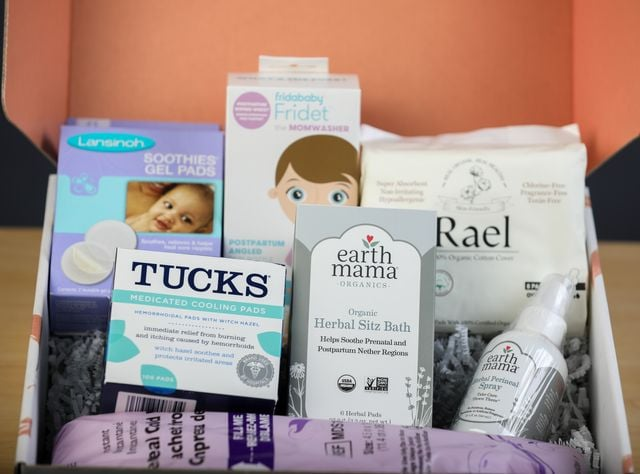 These Postpartum Boxes Are Game-Changers For New Moms