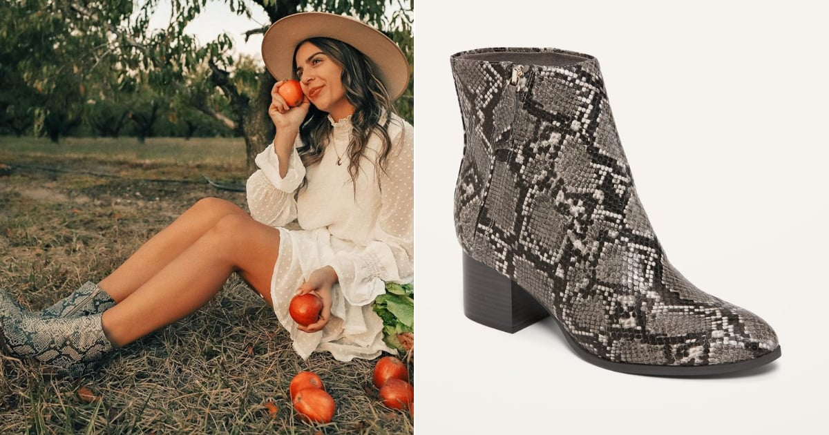 Cheap Snakeskin Boots For Women at Old Navy