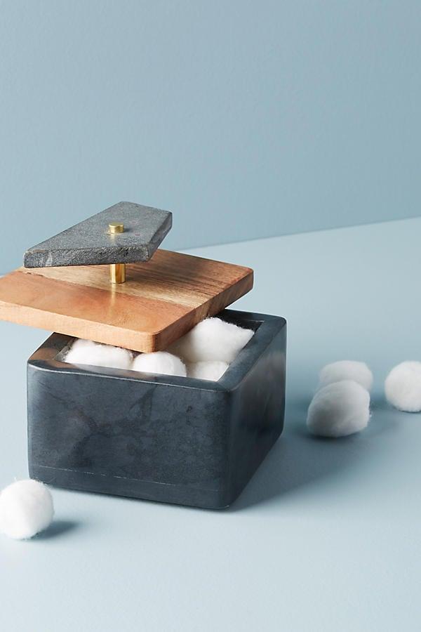 Anthropologie Stonemaker Jewelry Box