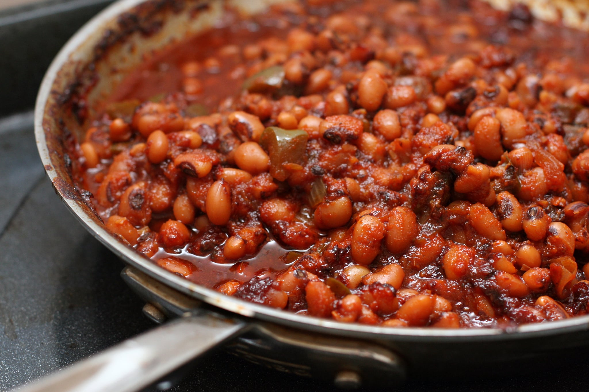 Barbecued Black Eyed Peas Popsugar Food