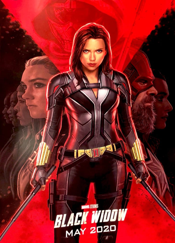 Marvel Black Widow Movie Poster Popsugar Entertainment