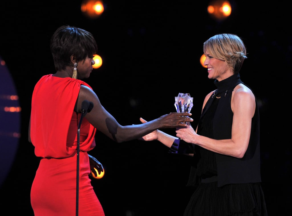 Viola Davis and Robin Wright