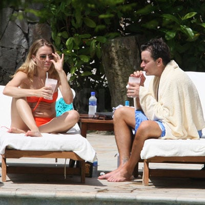 Charlie Sheen and Brooke Mueller on Their Honeymoon
