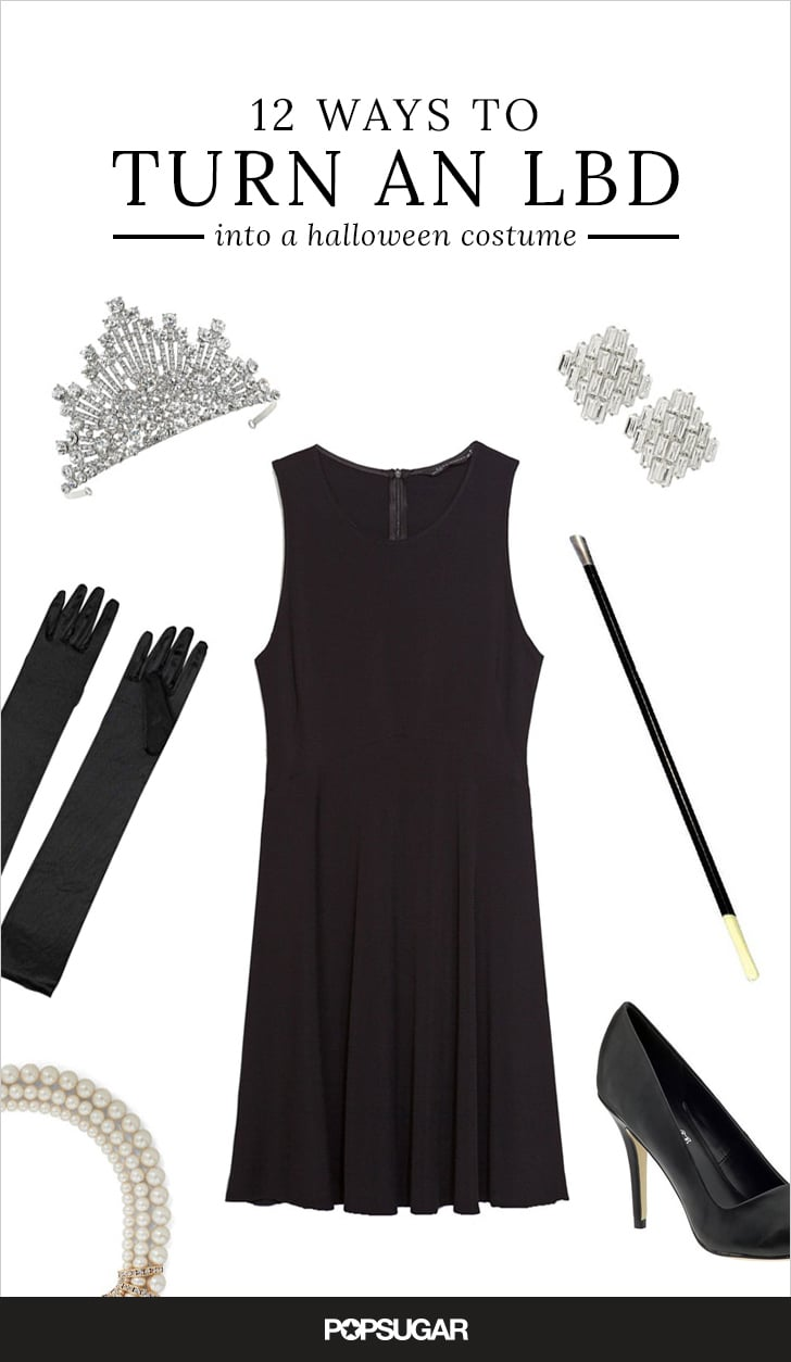 12 Ways to Wear Your Favorite LBD This Halloween