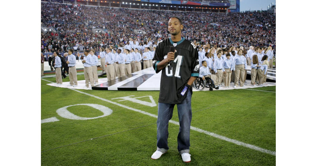 Will Smith introduced Alicia Keys, who sang the national ...