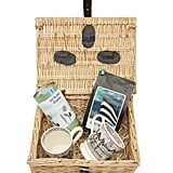 Liberty London Coffee Lover's Wicker Gift Hamper