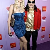 Corey Feldman and Courtney Anne