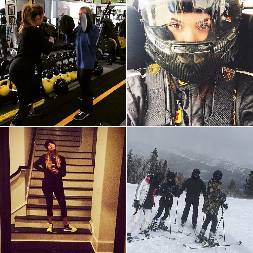 The Kardashians' Workout Routine