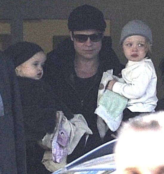 Pictures of Jolie-Pitt Twins