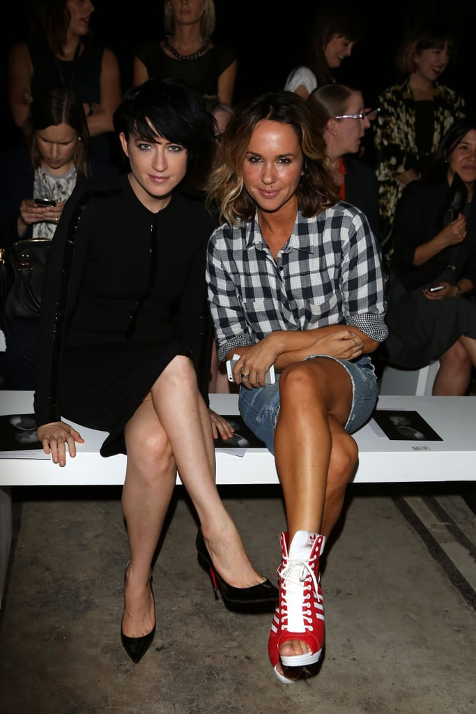 Megan Washington and Pip Edwards at MBFWA Day Four