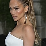 Jennifer Lopez's Sleek Ponytail in 2014
