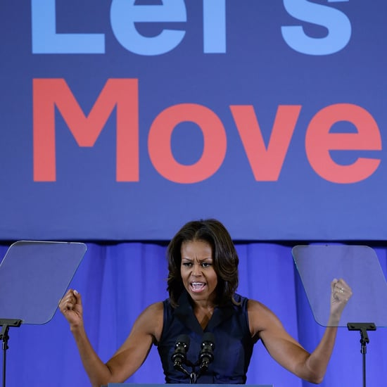 Michelle Obama's Healthy Moments