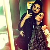 "Selena Gomez reunited with her longtime friend Demi Lovato, saying, ""It's just the evidence of forever. No matter what."" Source: Instagram user selenagomez"