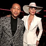 Pictured: John Legend and Lady Gaga