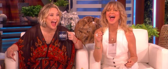 Kate and Oliver Hudson Talk About Goldie Hawn on Ellen Video