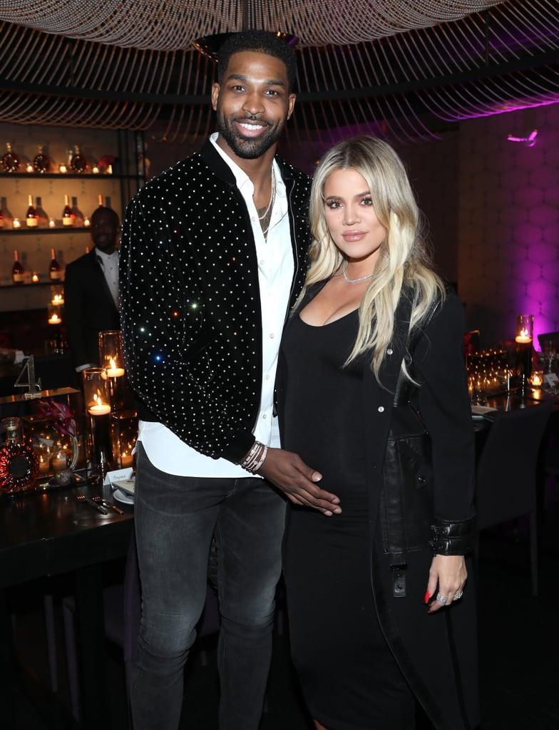 Khloé Kardashian and Tristan Thompson