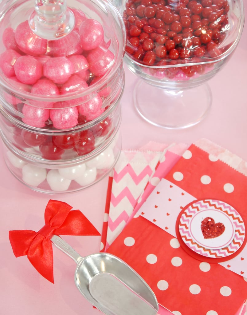 DIY Candy Bar | Valentine\'s Day Candy Party | POPSUGAR Moms Photo 4